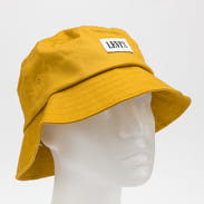 Levi's ® Serif Bucket Hat tmavě žlutý
