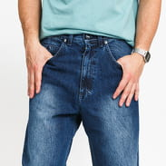 Mass DNM Slang Baggy Fit Jeans dark blue