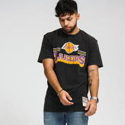 Mitchell & Ness NBA Fan Banner Tee LA Lakers černé