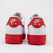 Nike Air Force 1 '07 white / university red - white