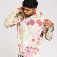 Nike M NSW Hoodie PO FT Dye krémová / vínová / růžová / zelená