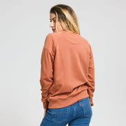 Patagonia W's Pastel P-6 Label Organic Crew Sweatshirt tmavě oranžová
