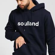 Soulland Googie Hoodie navy