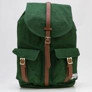 The Herschel Supply CO. Dawson Backpack melange tmavě zelený