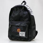 The Herschel Supply CO. Santa Cruz Classic XL Backpack černý / bílý / tmavě šedý