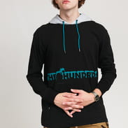 The Hundreds Beta Hooded LS T-Shirt black