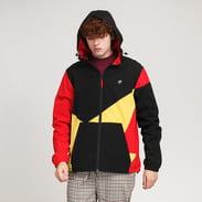 The Hundreds Ignite Jacket černá / žlutá / červená