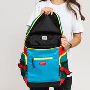 TOMMY JEANS Urban Tech Backpack světle modrý / zelený / červený / žlutý / černý