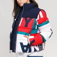 TOMMY JEANS W AOP Puffa Jacket multicolor