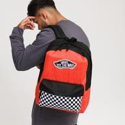 Vans WM Realm Backpack oranžový / černý / bílý