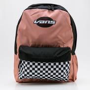 Vans WM Street Sport Realm Backpack pink / black / white