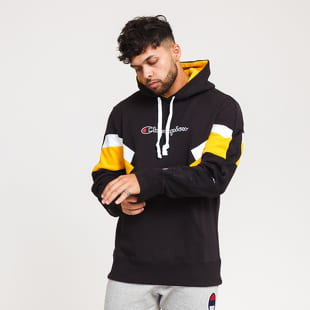 Champion Colorblock Printed Logo Hooded Sweatshirt