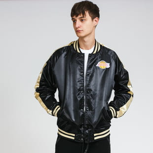 Mitchell & Ness Color Blocked Satin Jacket LA Lakers