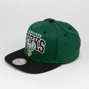 Mitchell & Ness Team Arch Snapback Milwaukee Bucks