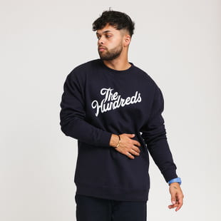 The Hundreds Forever Slant Logo Crewneck