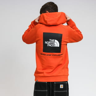The North Face M Raglan Red Box HD