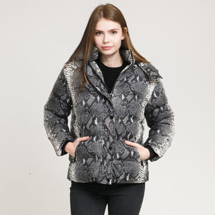Urban Classics Ladies AOP Hooded Puffer Jacket