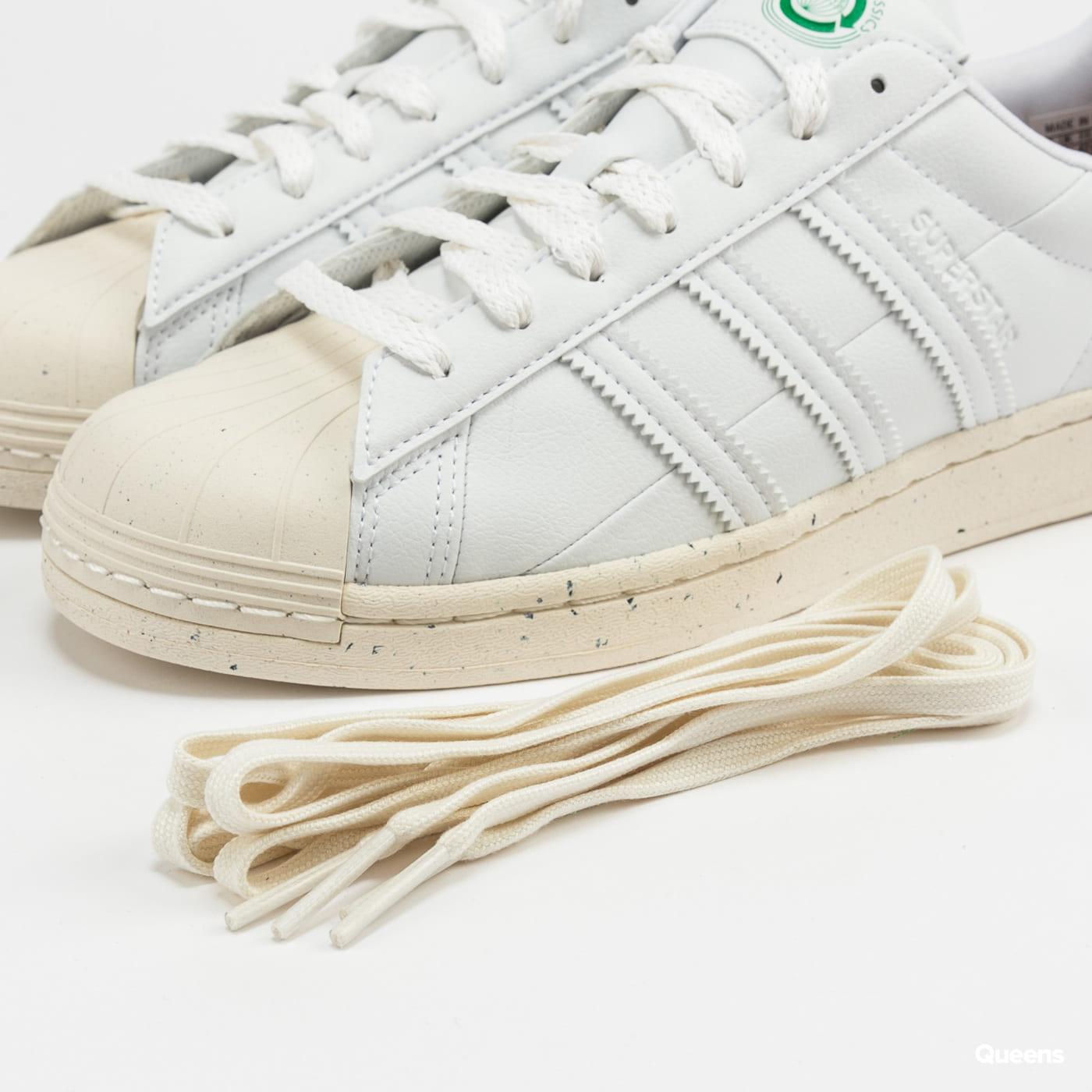 adidas Originals Superstar ftwwht / owhite / green