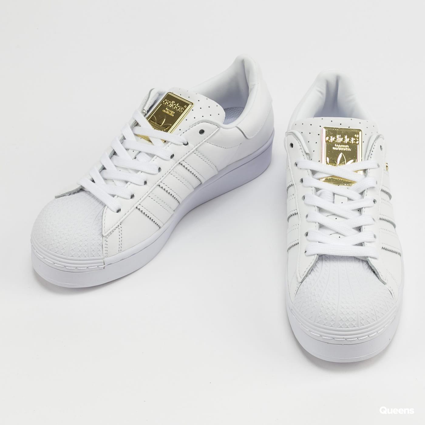 adidas Originals Superstar Bold W ftwwht / goldmt / cblack