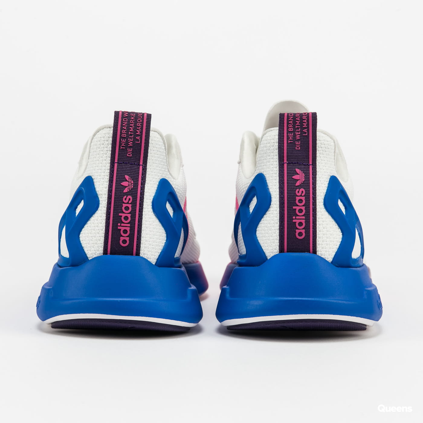 adidas Originals ZX 2K Flux W crywht / shopnk / blue
