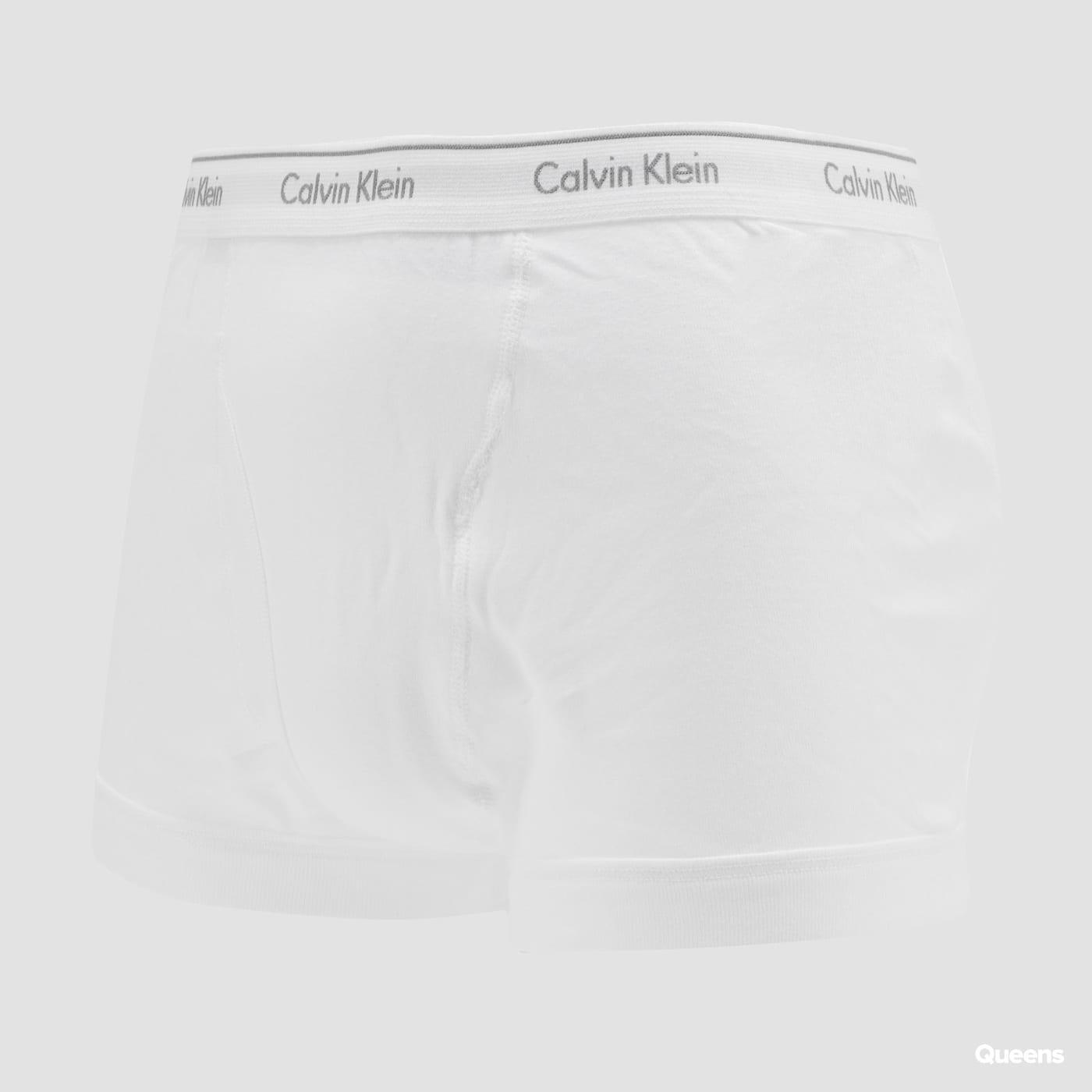 Calvin Klein 3 Pack Classic Fit Trunks bílé