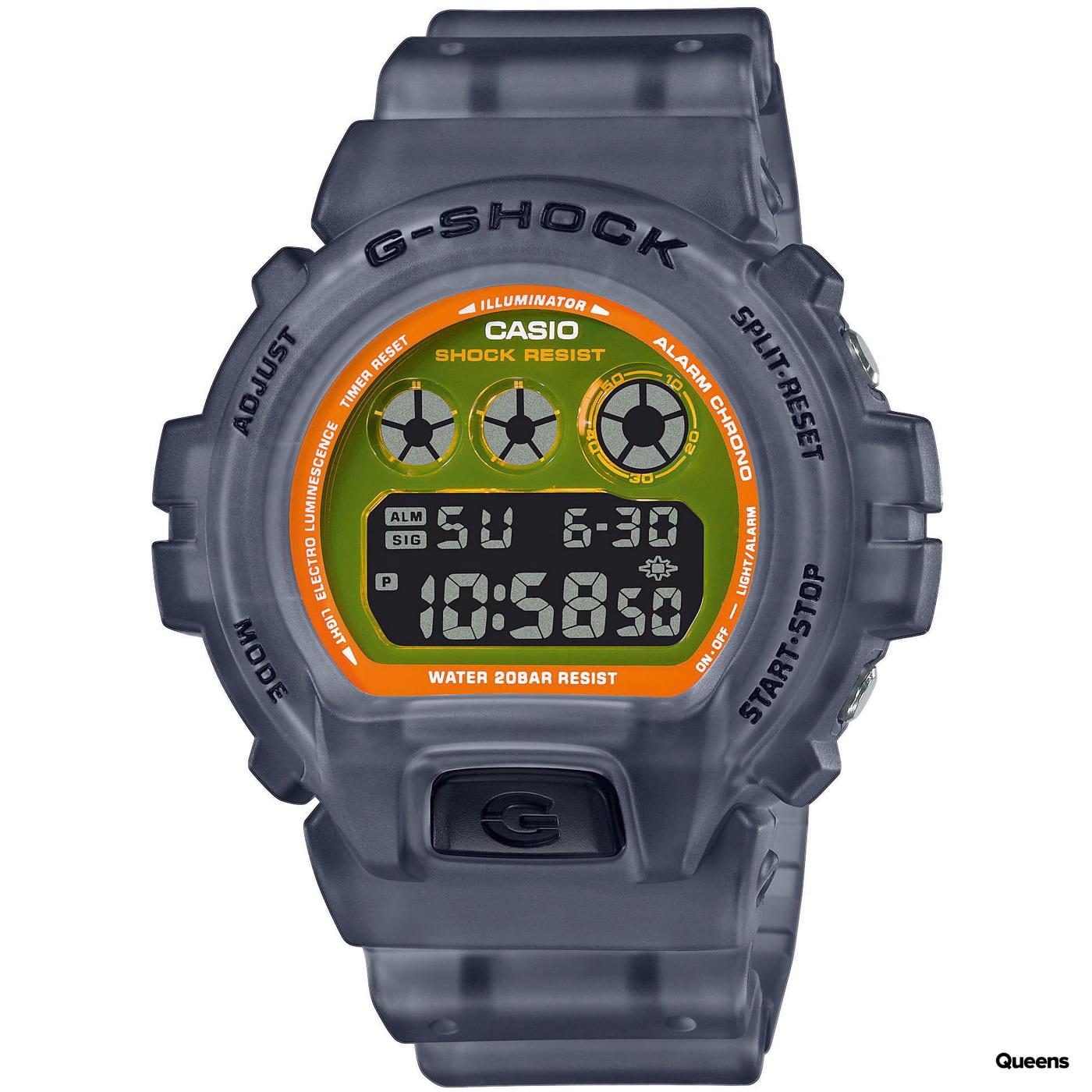 Casio G-Shock DW 6900LS-1ER šedé
