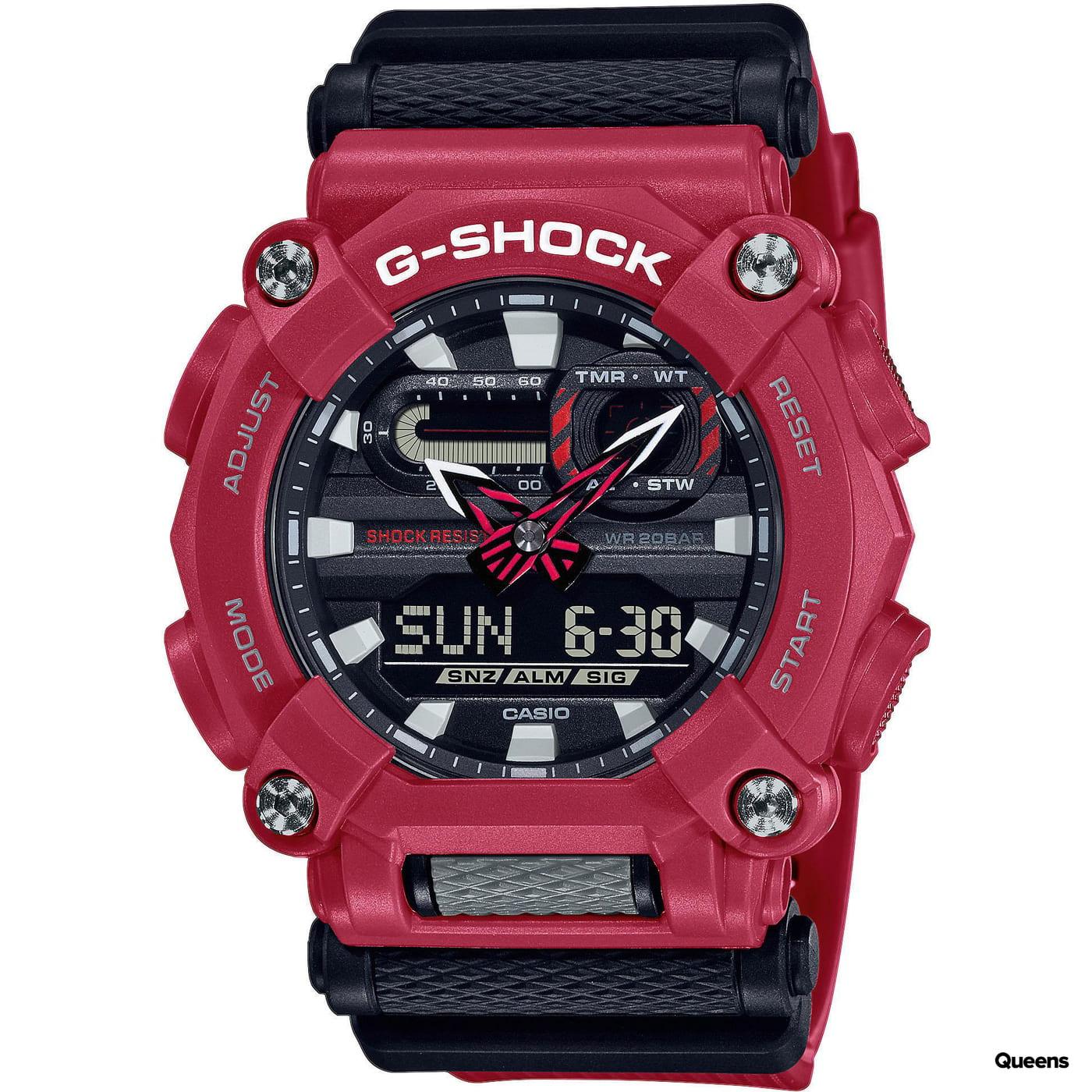 Casio G-Shock GA 900-4AER red / black