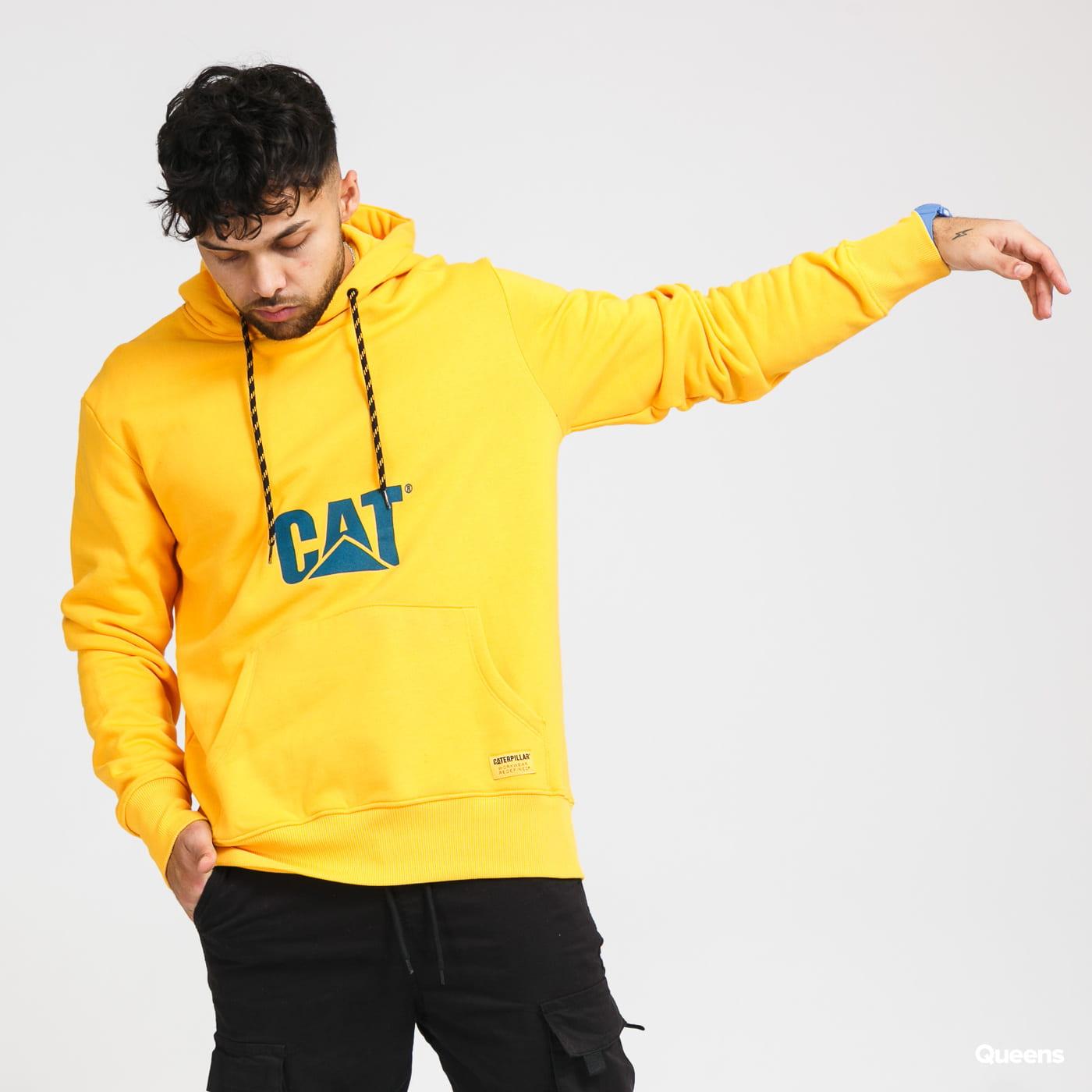 CATERPILLAR CAT Hoodie žlutá