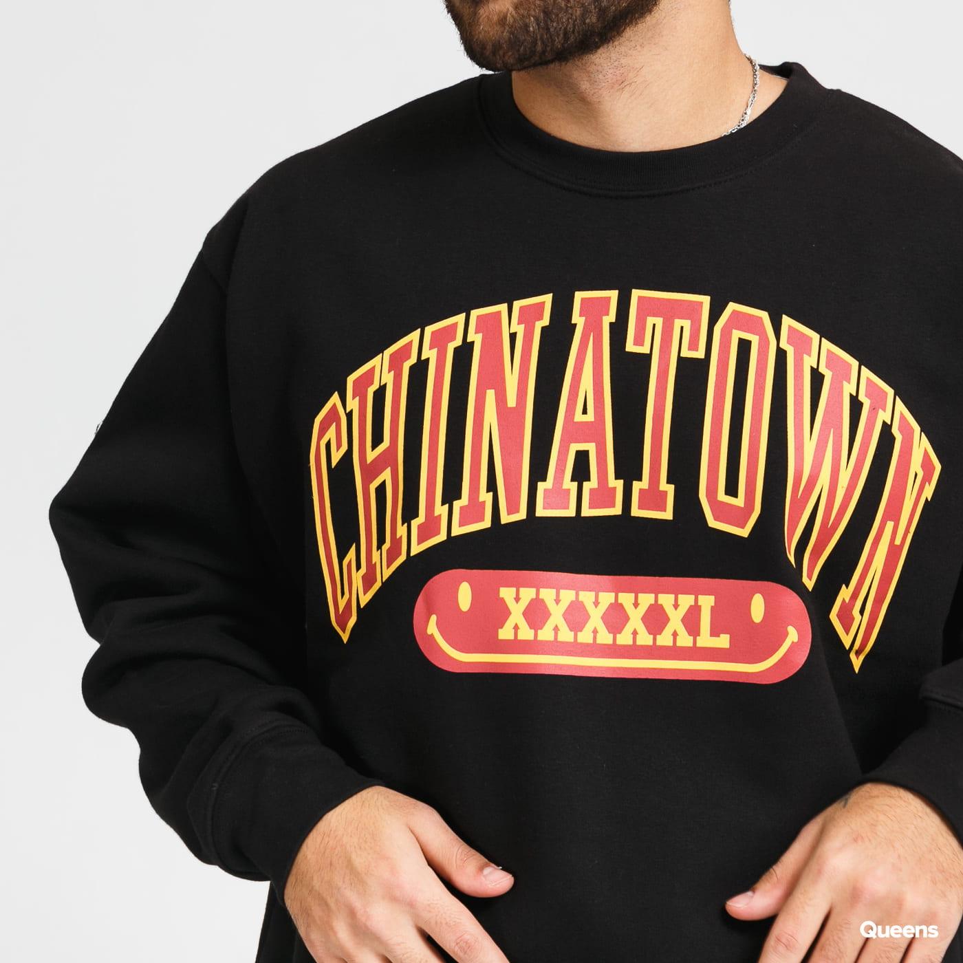 Chinatown Market Gym Arc crewneck černá