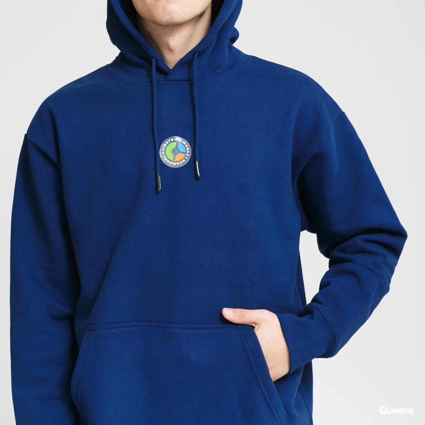 Chinatown Market Tech Wear Hoodie blue / turquoise