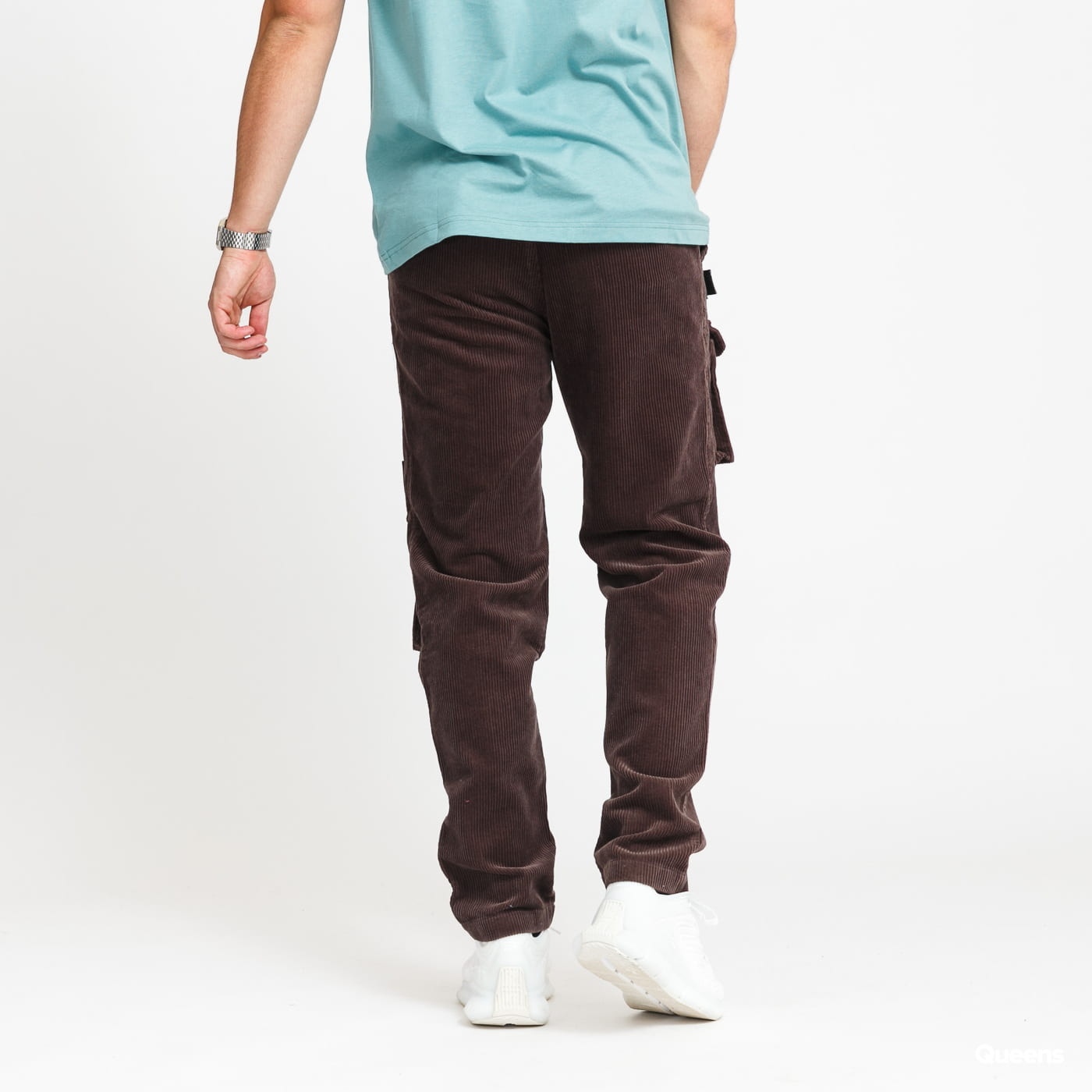 Daily Paper Corduroy Cargo Pants brown