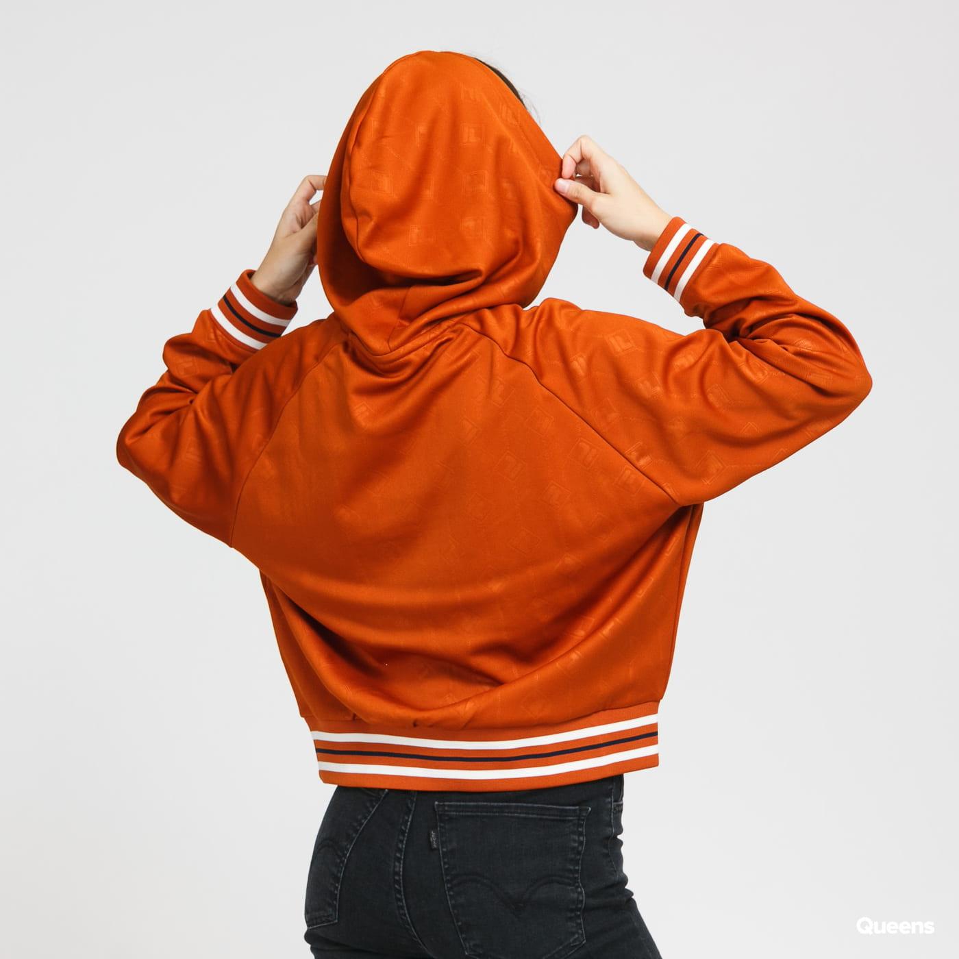 Fila Women Helen Hoody tmavě oranžová