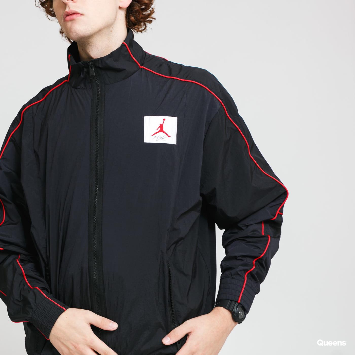 Jordan M J Flight WarmUp Jacket černá