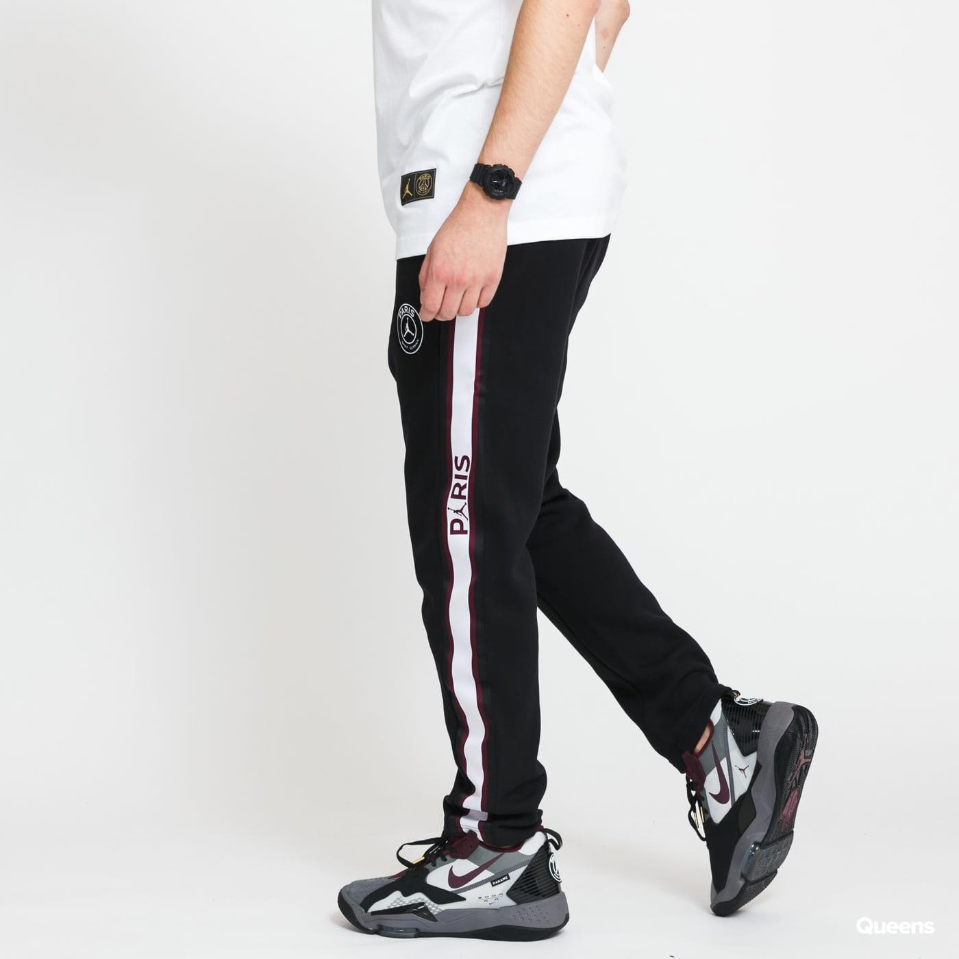Jordan M J PSG Fleece Pant černé / bílé / vínové