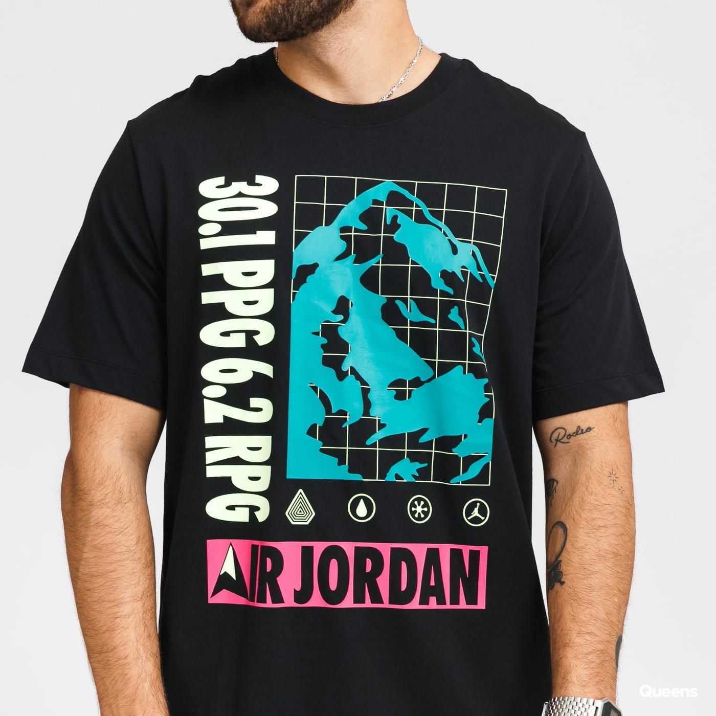 Jordan M J SS Mountainside Crew černé