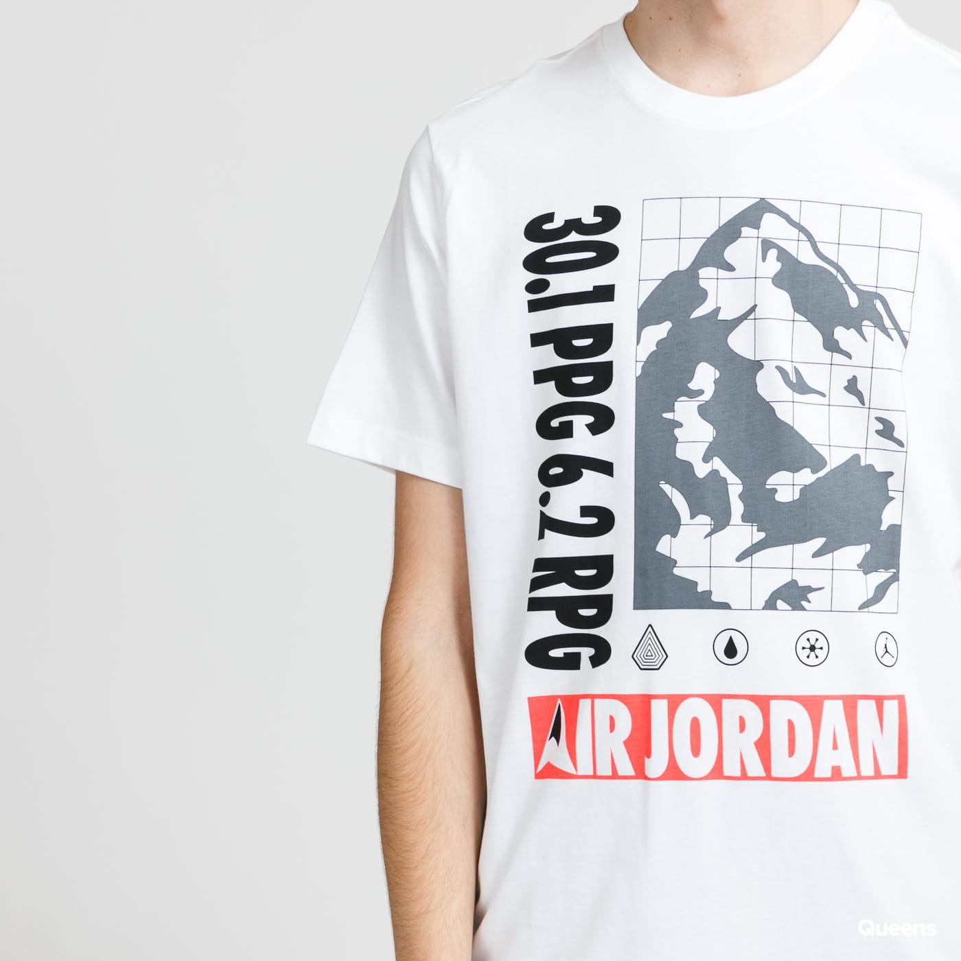 Jordan M J SS Mountainside Crew bílé