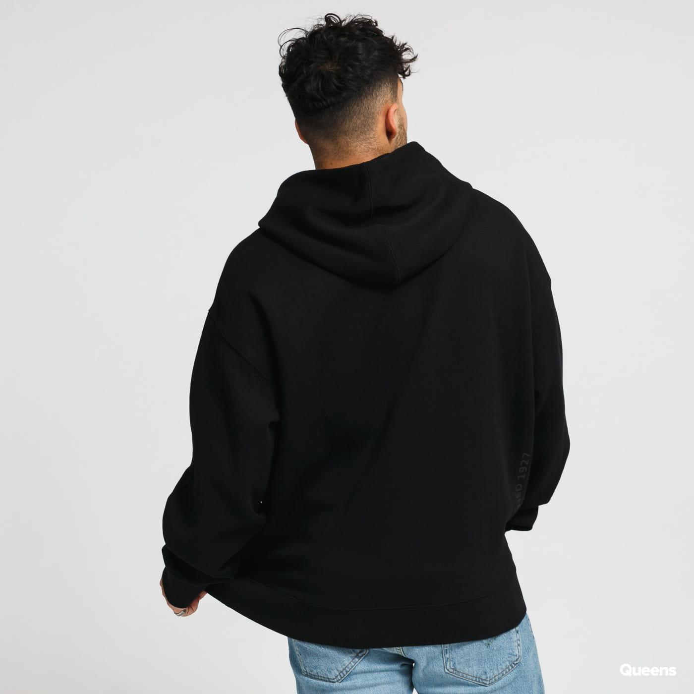 LACOSTE Live Hooded Embroidered černá