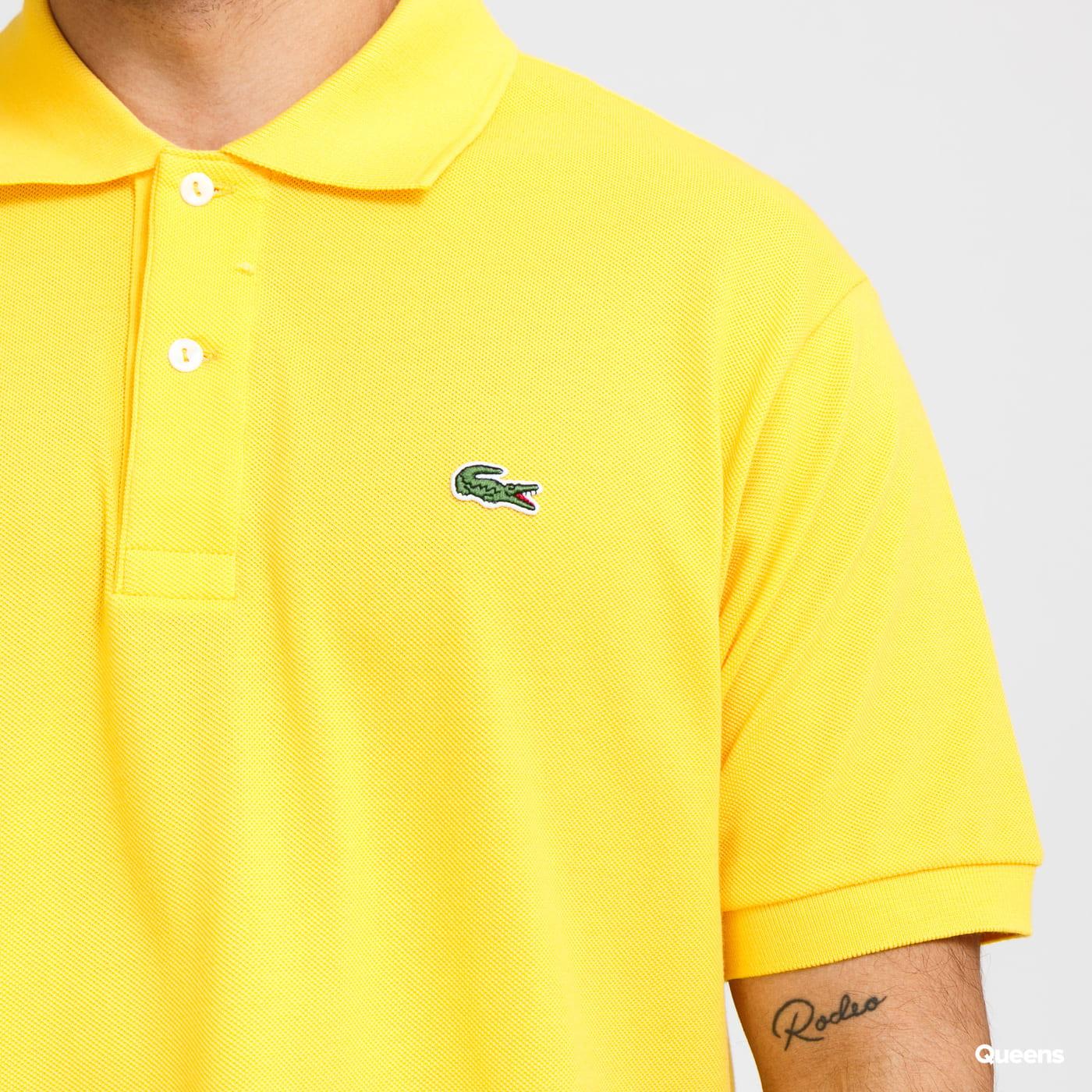 LACOSTE Men's Classic Polo žluté