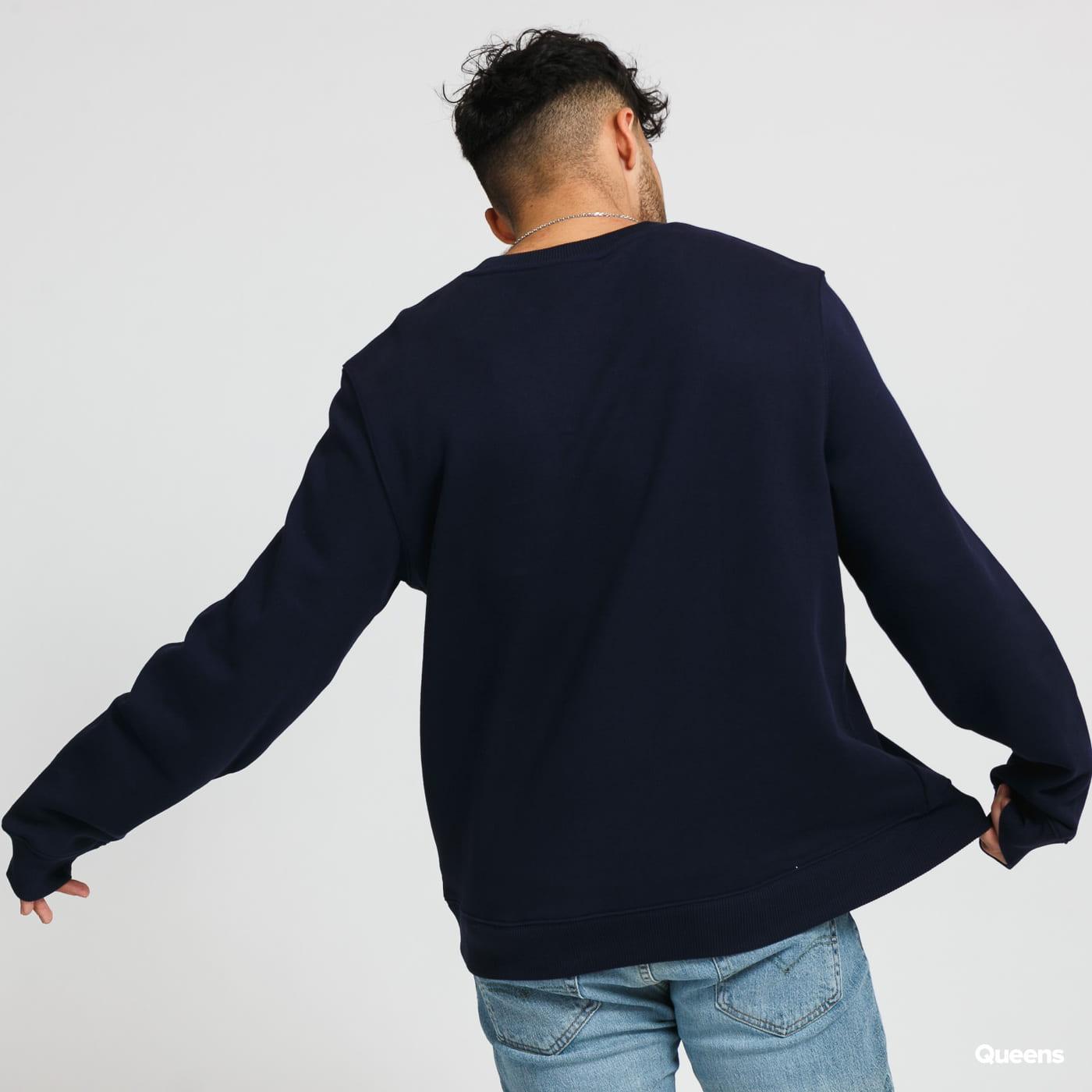 LACOSTE Men's Lacoste And Crocodile Branded Fleece Sweatshirt blue / turquoise