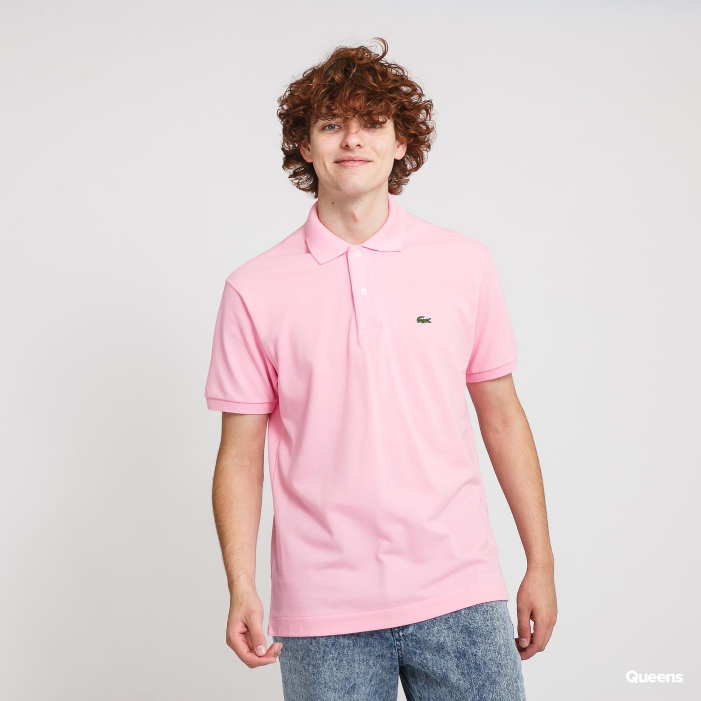 LACOSTE Men's Polo T-Shirt pink