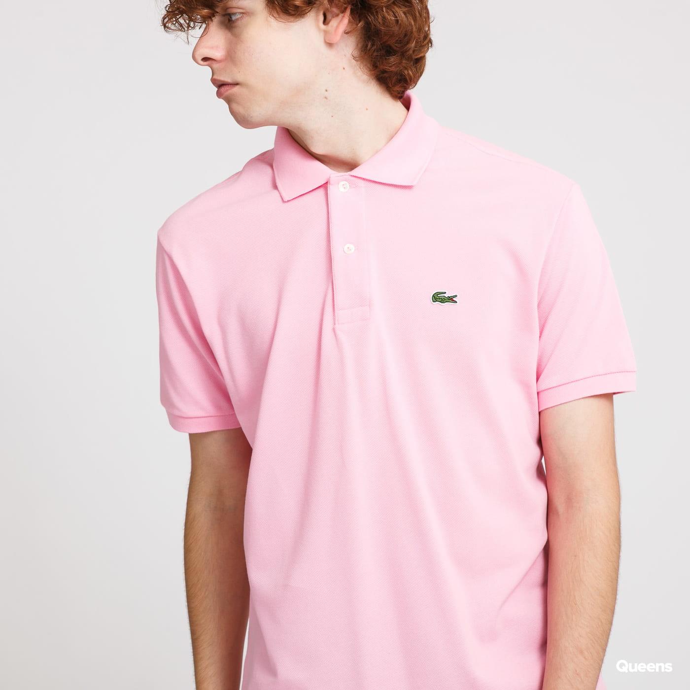LACOSTE Men's Polo T-Shirt růžové