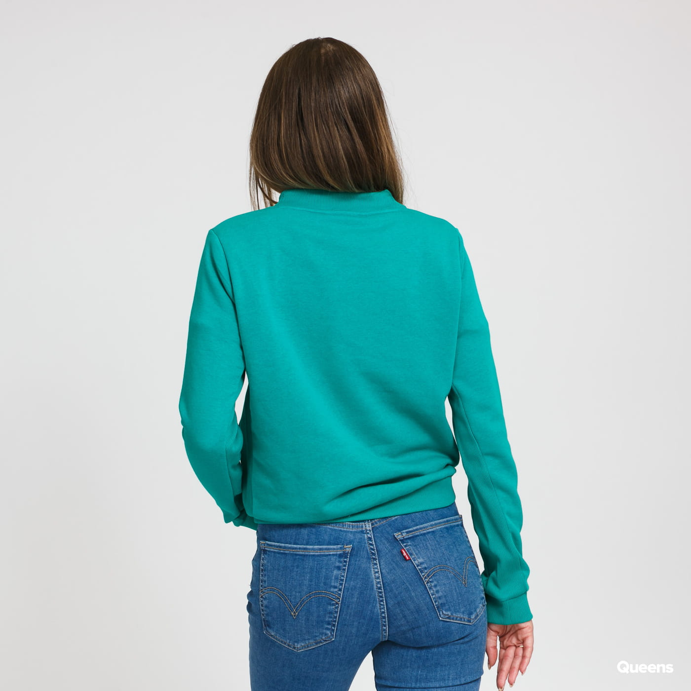 LACOSTE Women's Crewneck zelená
