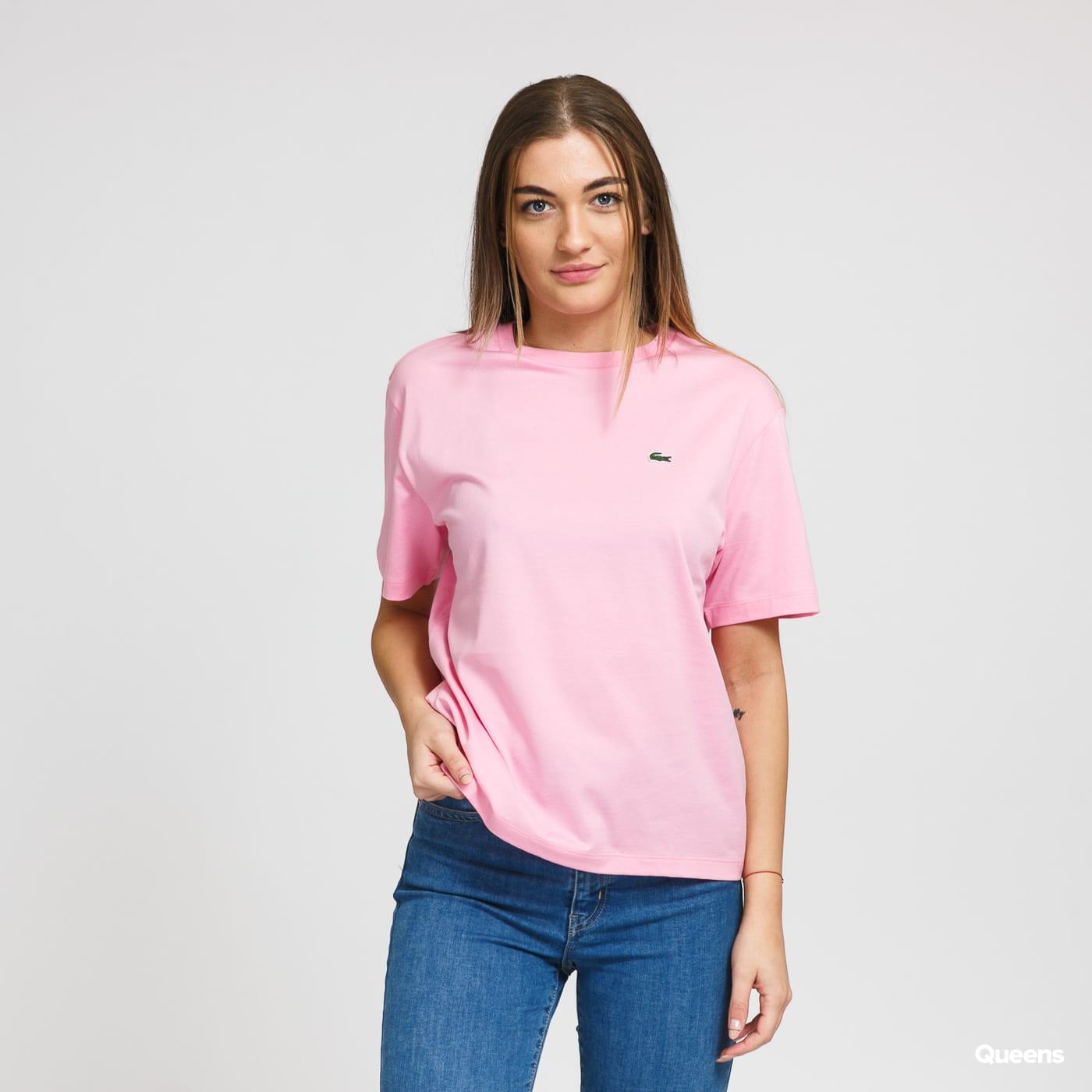 LACOSTE Women's T-Shirt růžové