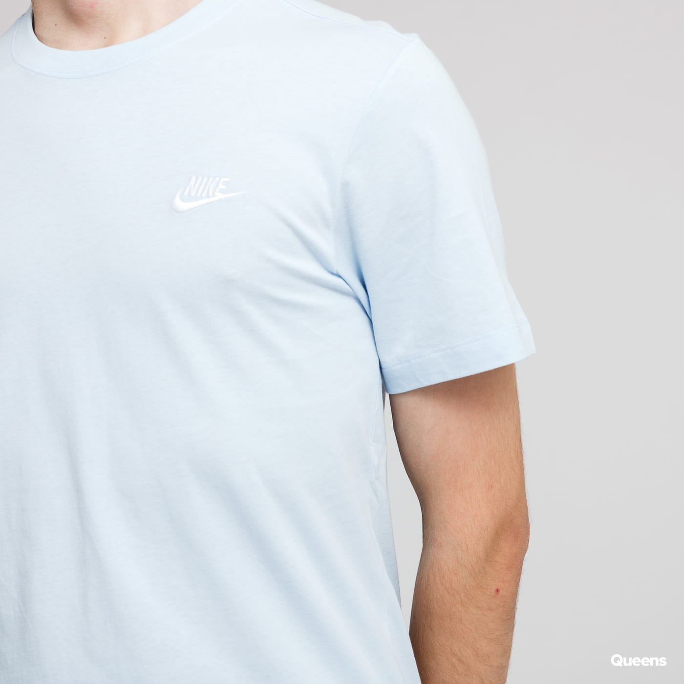 Nike M NSW Club Tee světle modré