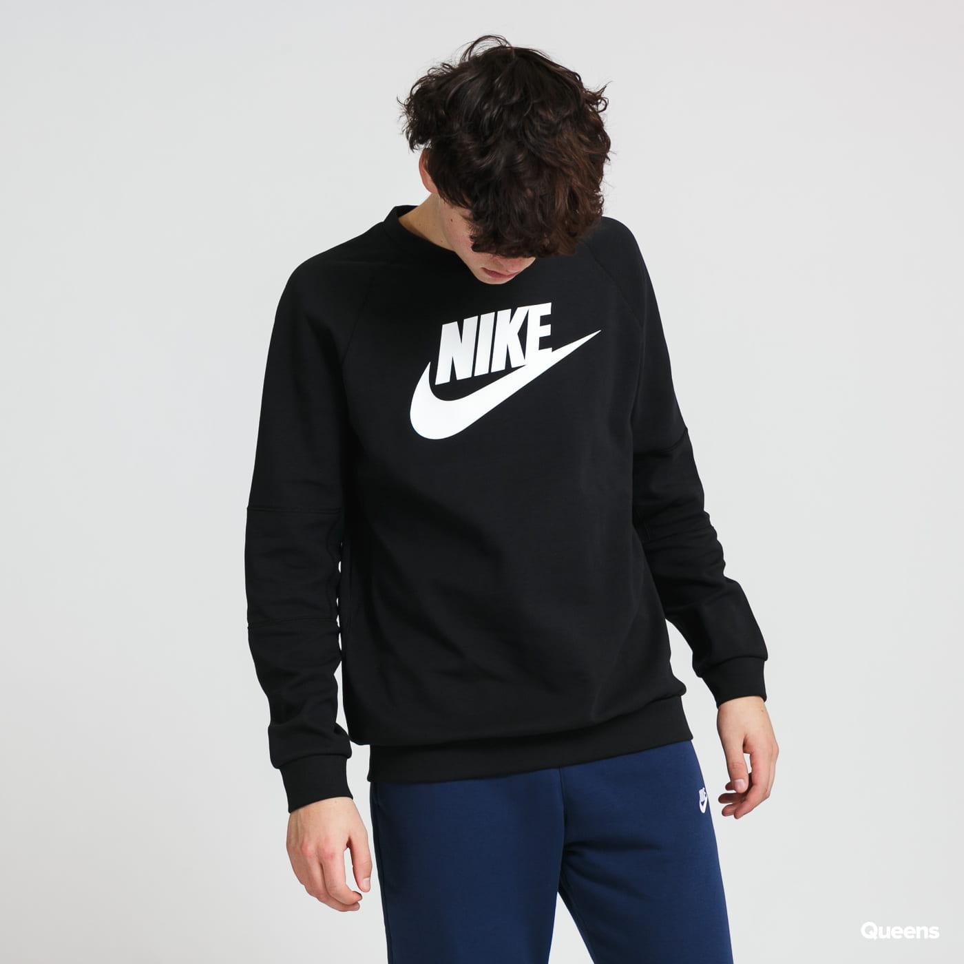 Nike M NSW Modern Crew Fleece HBR černá