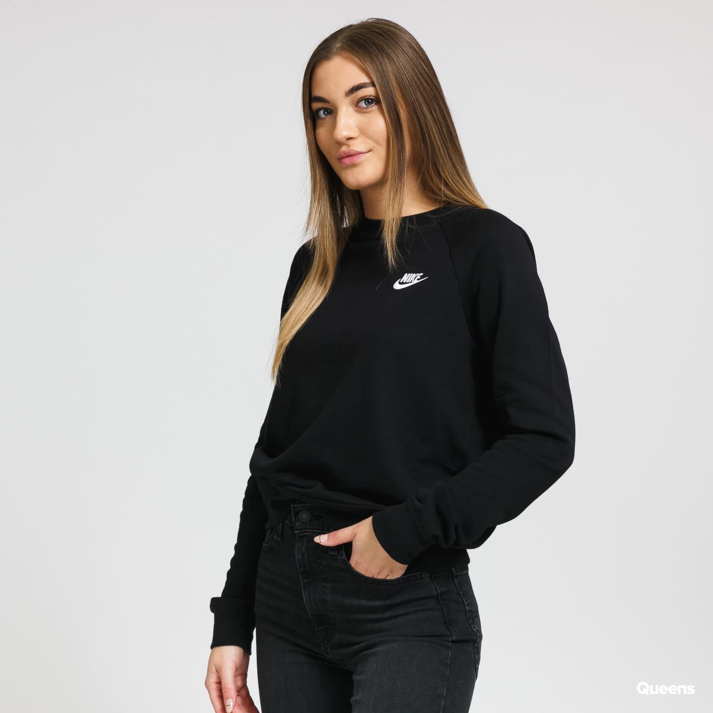 Nike W NSW Essential Crew Fleece černá