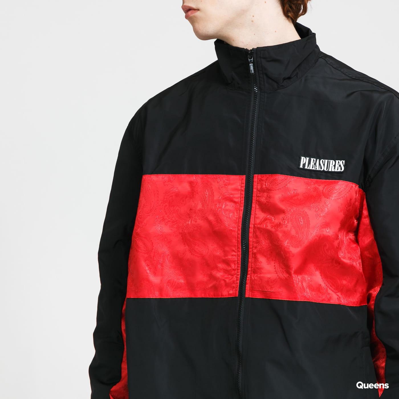 PLEASURES Blast Track Jacket black