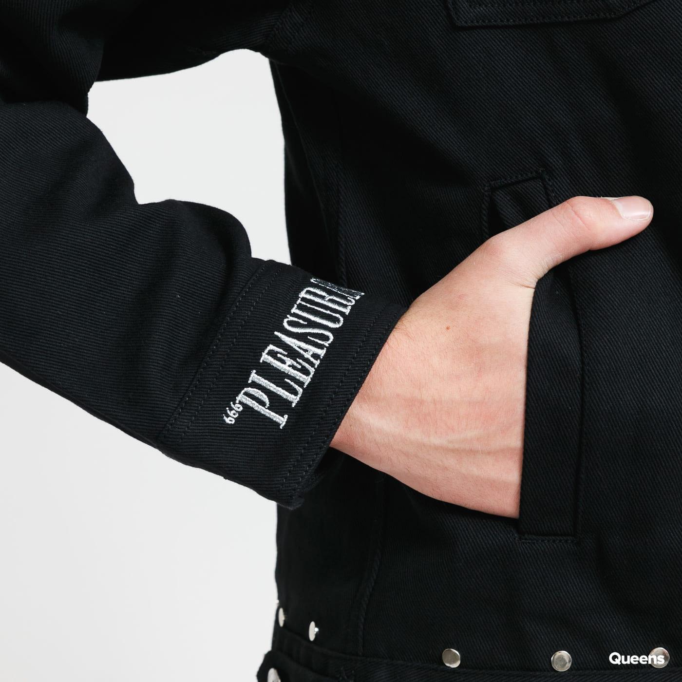 PLEASURES Nevada Denim Engineer Jacket black