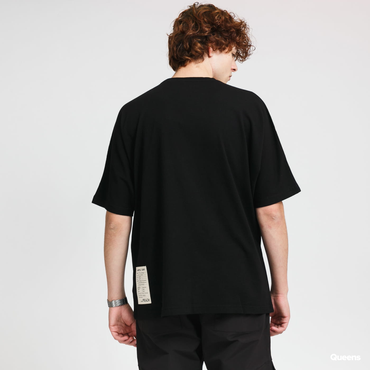 PREACH Overdropped Tee black