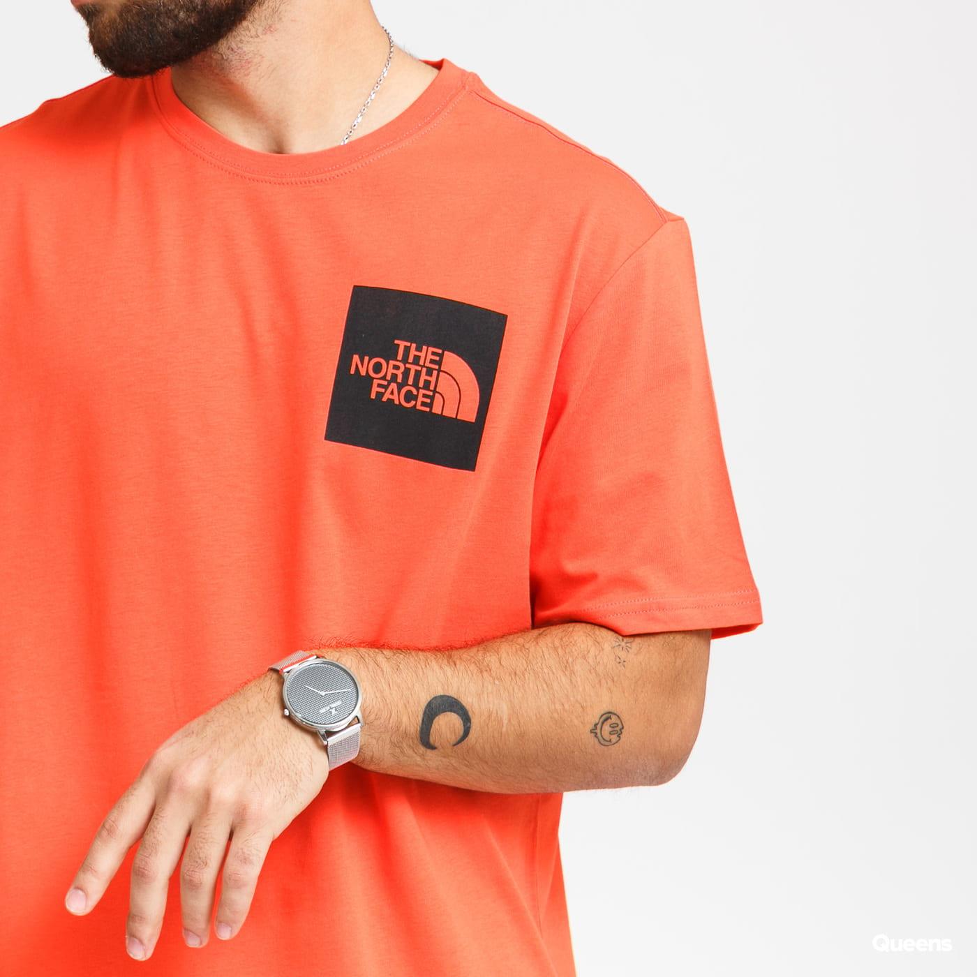 The North Face M Fine Tee dark orange